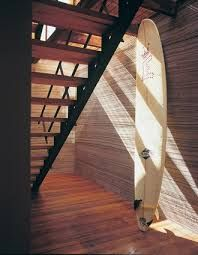 Stairs, showing materiality and light.