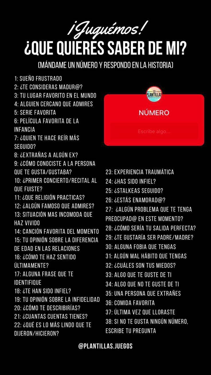 Pin De Mariana C En Yo Juegos Para Instagram Preguntas Para Whatsapp Retos Para Instagram