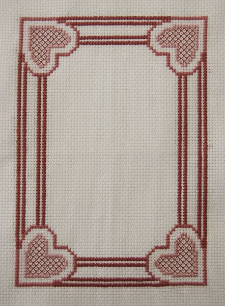 free cross stitch borders from New England Classic Stitch