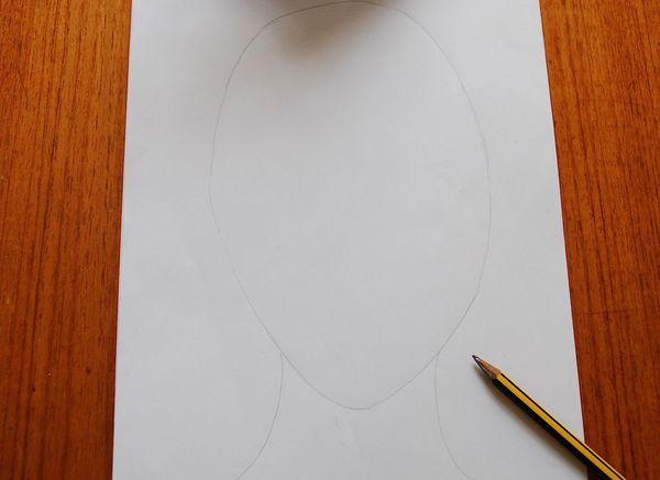 1 Portraet Tegn ansigtsform