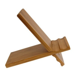 Bamboo Tablet Stand now featured on Fab.