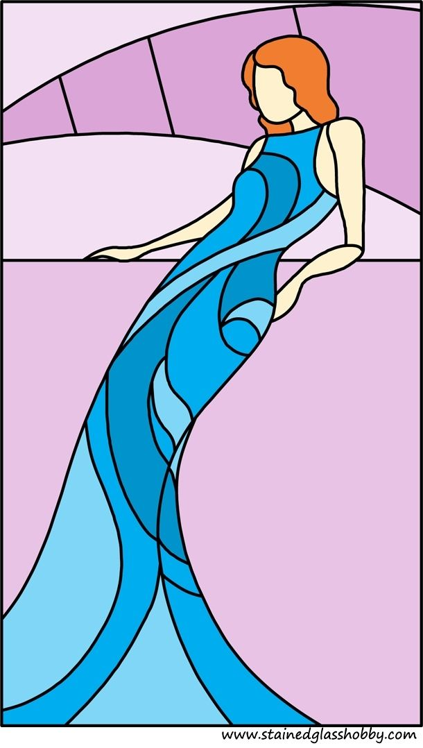 Mermaid panel design 1