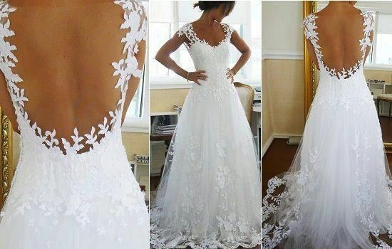 Most Beautiful Wedding Dress Ever!