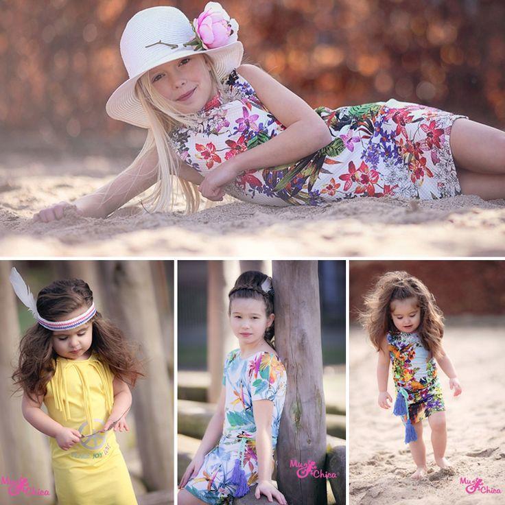 MuChica zomer 2015, ibiza meisjeskleding, ibiza tassen voor meisjes, mu chica meisjeskleding, hippe jurkjes voor meisjes, zomerkleding voor kinderen, online meisjes jurkjes kopen