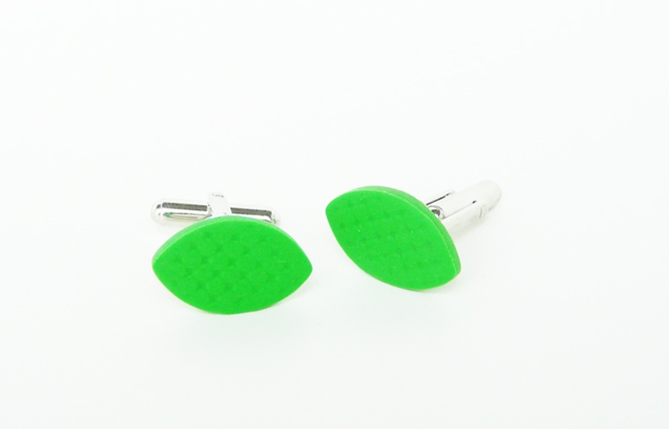 FunkLinks by Silvia Cornea  Leaf Cufflinks