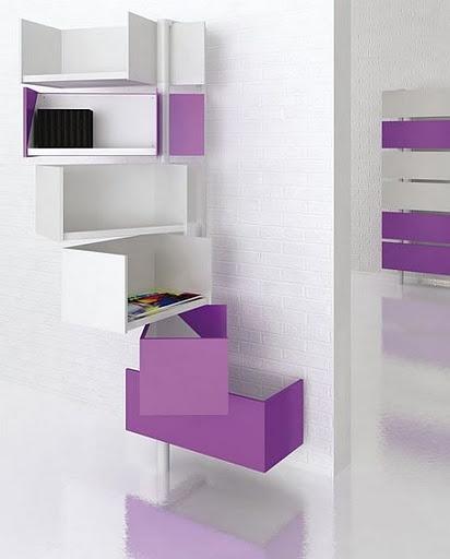 storage purple