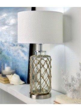 LAMPE VERRE&CORDAGE