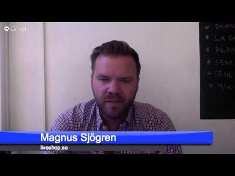 LiveShop und die Zukunft des Kundenservice. Magnus Sjögren im Gespräch mit Bernhard Steimel.