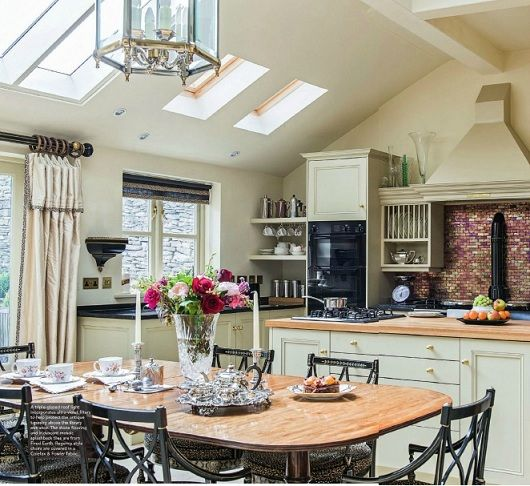 Beautiful Interiors Of Homes: English Country Style Home