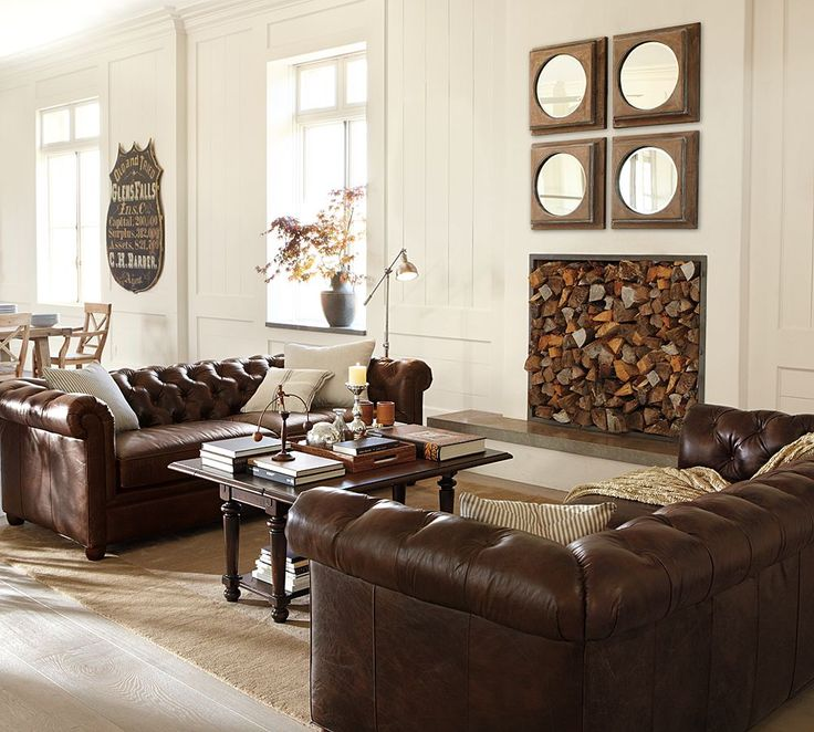 Wall Decor For Brown Furniture : Best images about decorating around a brown sofa on