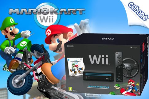 Have an innovative go karting experience using the Nintendo Wii Mario Kart Wii Pack from Bin Tamim Electronics LLC for AED 599 (Value AED 799) – Includes steering wheel and 16 new go-karting courses and personalized caricatures!