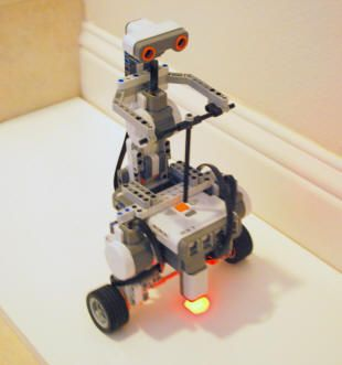 This is a great Robot version of a Segway with instructions and a user video!