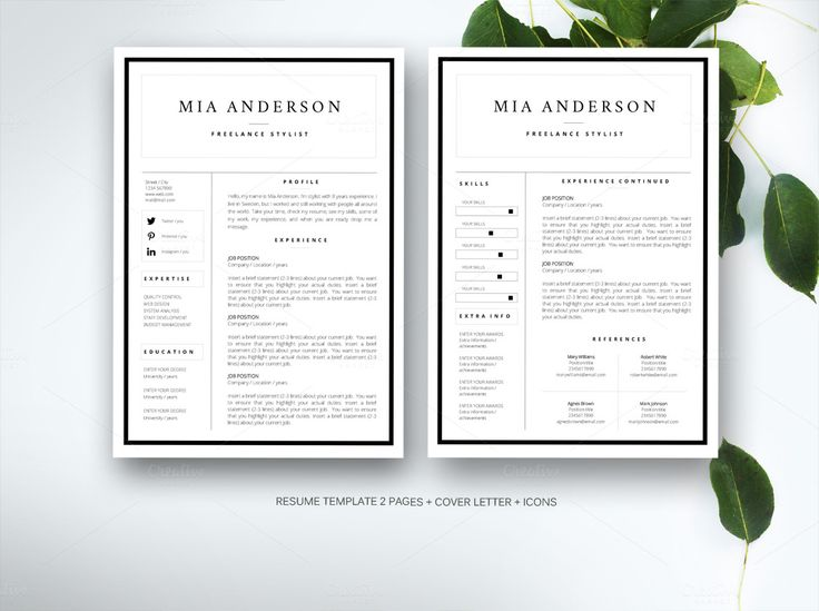 207 best Resume Templates many free images on Pinterest Resume - cv and resume templates