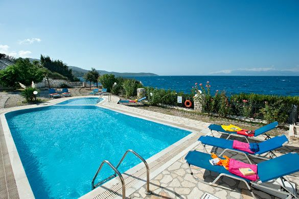 Villa Alexandros, Kassiopi, Corfu, Greece. Find more at www.villaplus.com