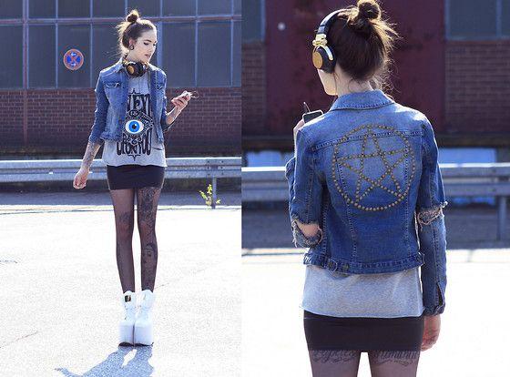 Gypsy Warrior Jacket, Librastyle Shirt, Femmex Skirt