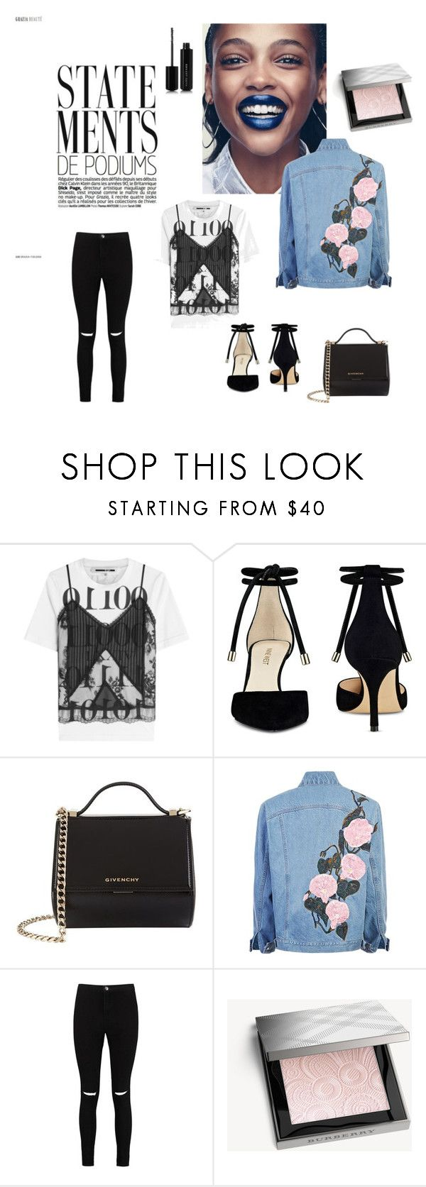 Statement by lieve-peters on Polyvore featuring mode, McQ by Alexander McQueen, Boohoo, Nine West, Givenchy, Burberry and Marc Jacobs