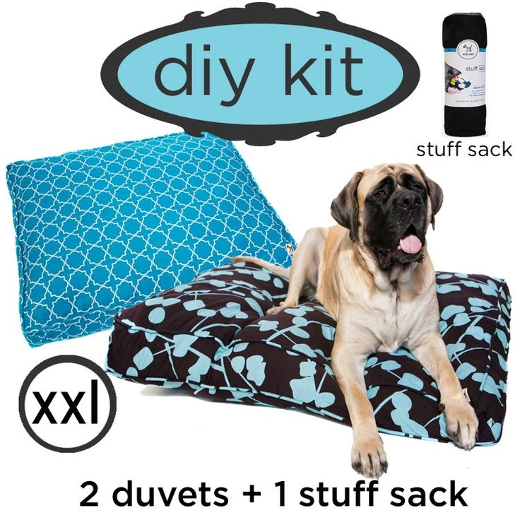 with the molly mutt DIY dog bed kit you choose any two patters and we\u0027ll throw in the stuff sack for free!