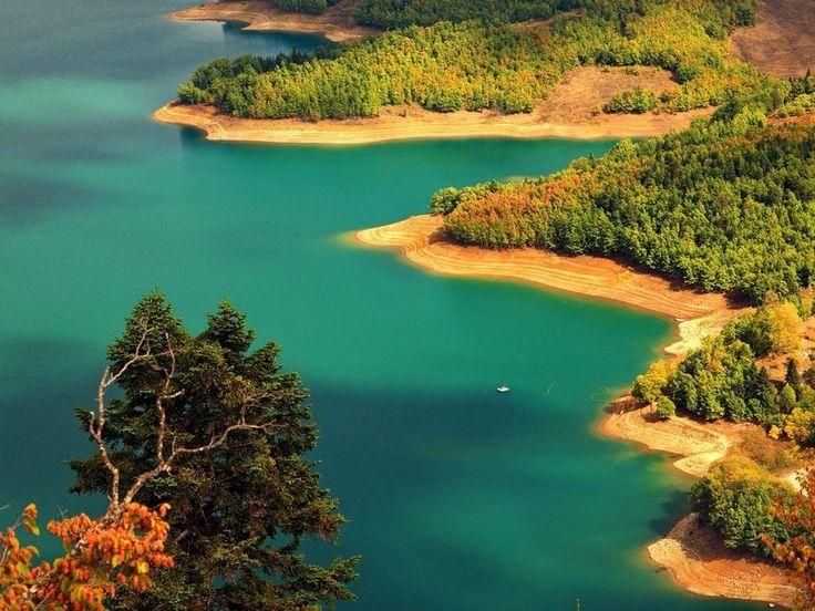 Озёра Греции - зеркала природной красоты