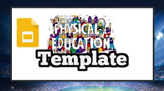 Simple Physical Education Google Slides Template - Roombop