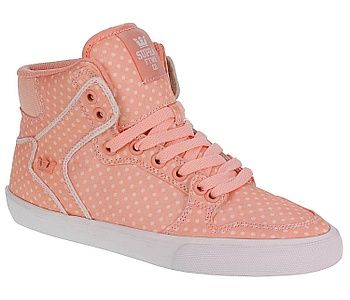boty Supra Vaider High - Peach/White