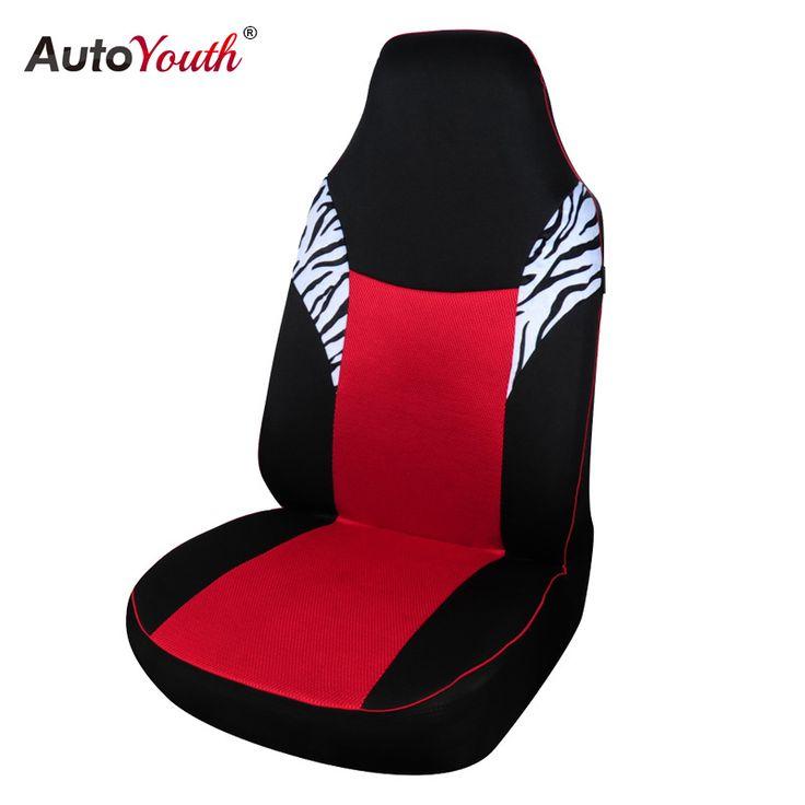 AUTOYOUTH Bánh Sandwich Vải Cổ Điển Xe Ghế Bìa Phổ Phù Hợp Với Hầu Hết Tự Động Seat Cover Red Styling Phụ Kiện Car Seat Protector
