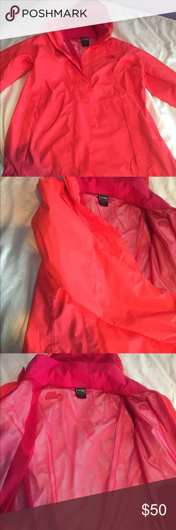 North face women's rain coat- small -rarely worn (1-2 times). Women's size small. North Face Jackets & Coats Utility Jackets