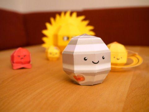 3D paper toys