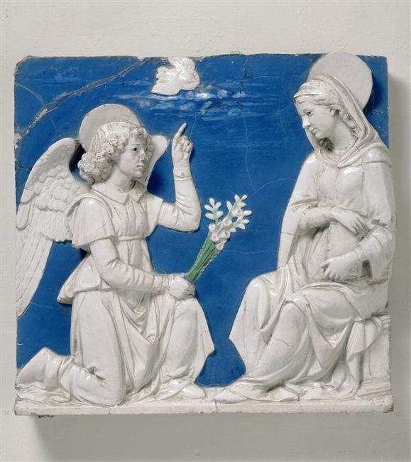 Annunciation Andrea della Robbia (1435-1525) (Workshop)