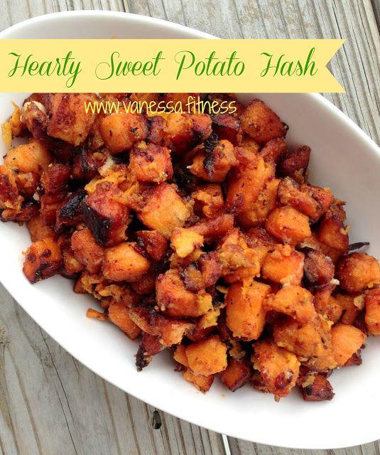 Sweet potato hash - gluten free, paleo, grain free, dairy free, 21 Day Fix recipe