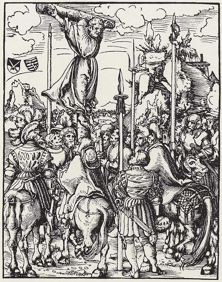 Artist: Cranach d. Ä., Lucas, Title: »Martyrium der zwölf Apostel«, Hl. Philippus, Date: ca. 1512