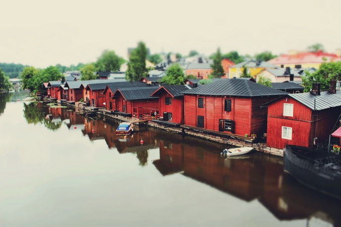 One of my favorite places... Beautiful Porvoo, Finland