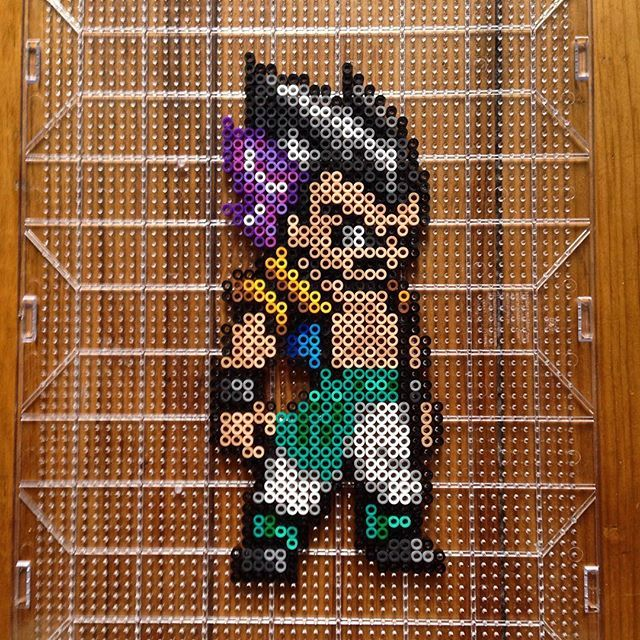 753 Best Images About Anime Perler Beads On Pinterest