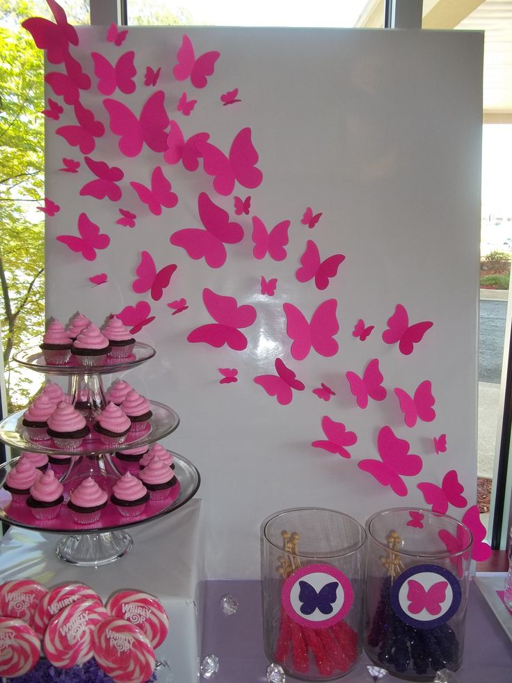 17 best ideas about backdrop butterfly on pinterest for Backdrop decoration for birthday