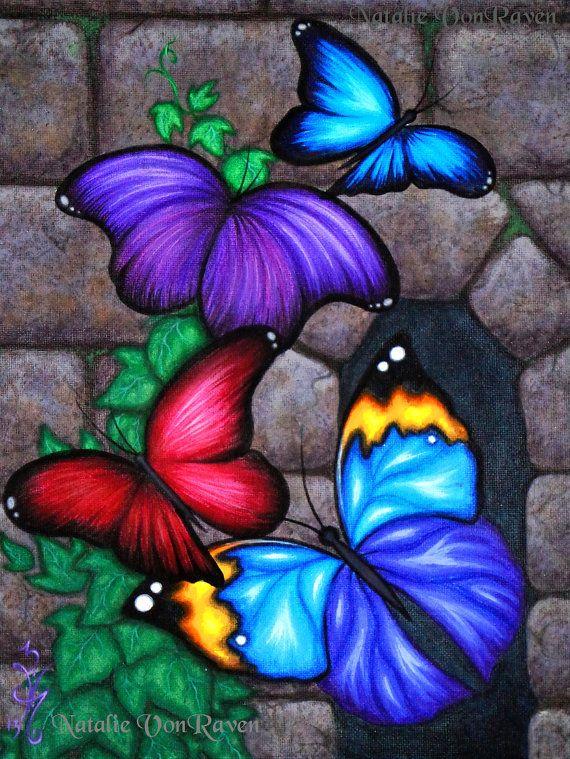 ORIGINAL fantasía mariposa alas Ivy Vine Castillo de piedra