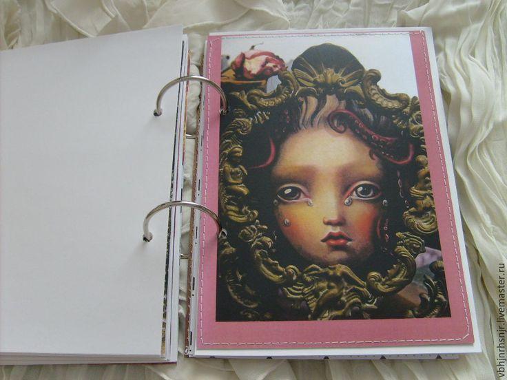 Купить Блокнот Страна чудес - блокнот, подарок, подарок на день рождения, винтажный стиль