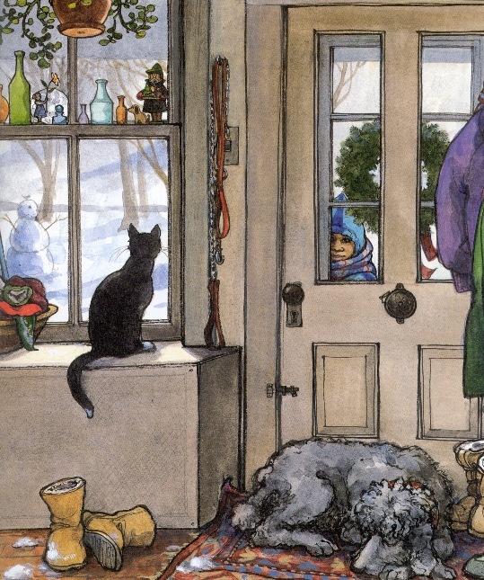 """A Child's Calendar"" illustrated by Trina Schart Hyman"