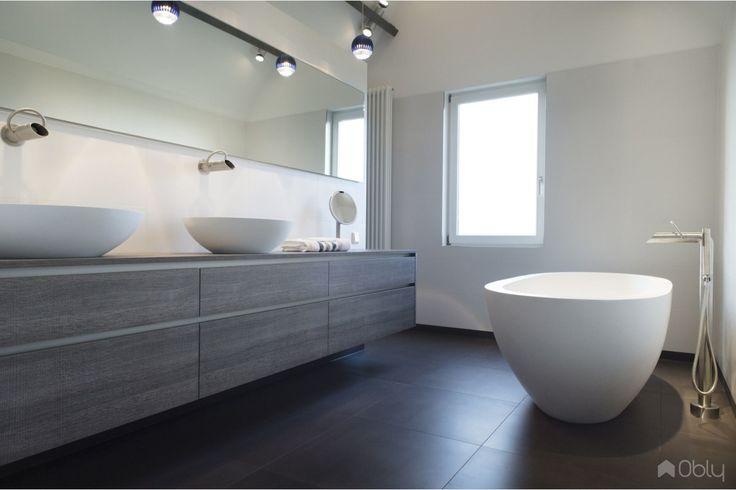 25 beste idee n over rustige badkamer op pinterest badkamer verf kleuren badkamer kleuren - Sfeer zen badkamer ...
