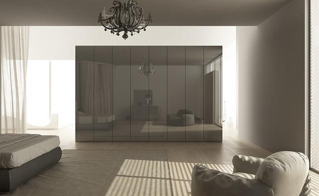 Crystal wardrobe by Mazzali