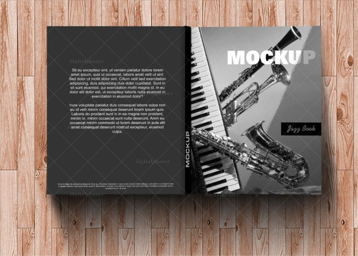 Hard Cover Book #Mockup @digitalphaser