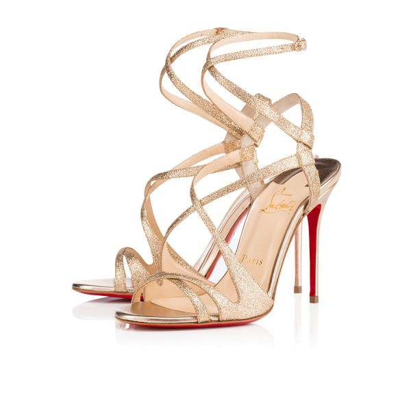 Christian Louboutin Audrey 100mm Poudre Glitter Women Special-Occasion
