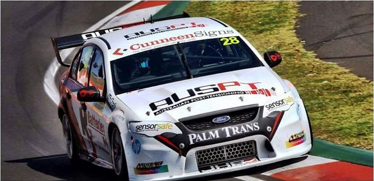 Cunneen Signs - Bathurst 2015 Race; Cunneen Signs sponsored Jack Le Brocq.
