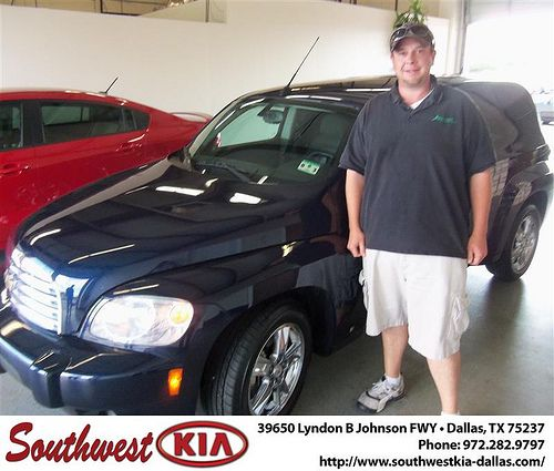 Happy Anniversary to Travis Hengst on your 2008 Chevrolet Truck Hhr from Stanley Bowie and everyone at Southwest Kia Dallas!