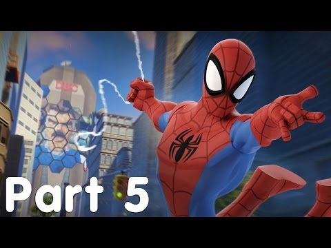 Disney Infinity 2.0 Edition - Spider-Man - Part 5 - YouTube