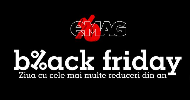 Infromatii Black Friday eMAG 2015