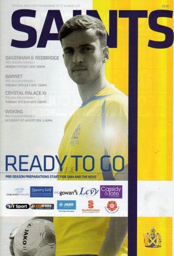 St Albans City - Friendly