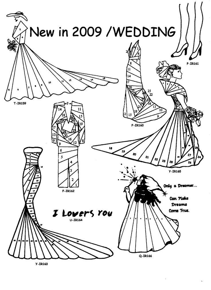 iris folding dresses template  visit me at My Personal blog: http://stampingwithbibiana.blogspot.com/