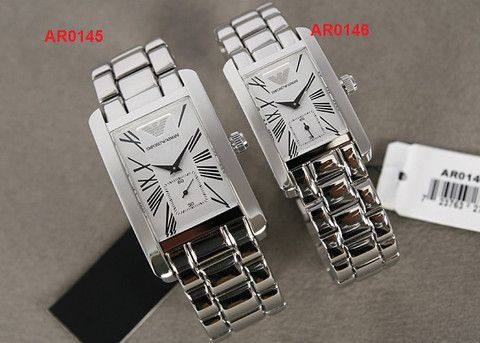 New Fashion Original Armani Watches Couple Wrist watches Stainless AR0145  AR0146 + Original Box (scheduled via http://www.tailwindapp.com?utm_source=pinterest&utm_medium=twpin&utm_content=post12415158&utm_campaign=scheduler_attribution)