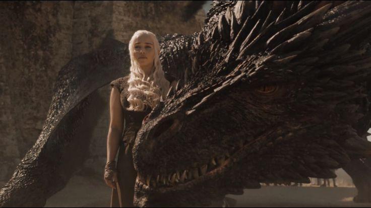 Daenerys and Drogon Game of Thrones Season 6 Episode 9