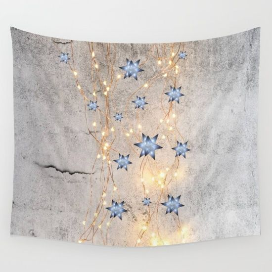 20% Off Free Worldwide Shipping Today #society6 #Christmas #shopping #sales #love #xmas #Noel #clouds #gift #ideas https://society6.com/product/star-wall-christmas-spirit_tapestry#s6-6160695p42a55v412