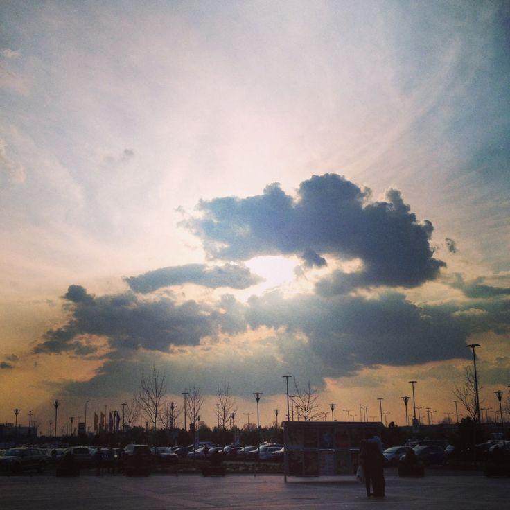 #stunning #sky #sunaet #view #beautiful